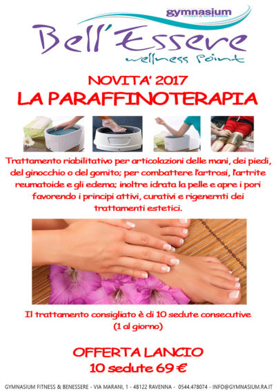 paraffinoterapia